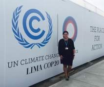 Why I'm in Lima for the U.N. climatetalks